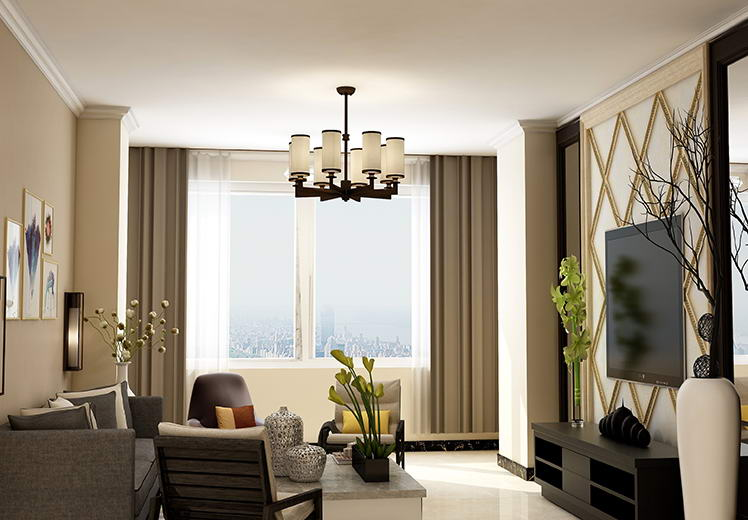 锦绣江南小镇89平方两室两厅现代简约风格万博官网效果图