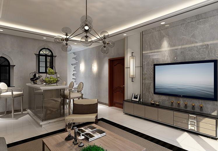 水利厅家属院130平方三室两厅北欧风格新万博体育app万效果图