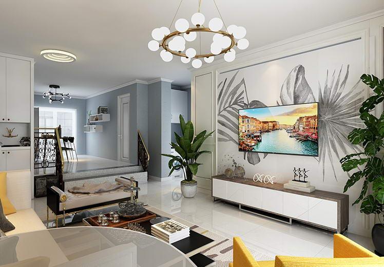 汇嘉园140平方四室两厅现代简约风格新万博体育app万效果图