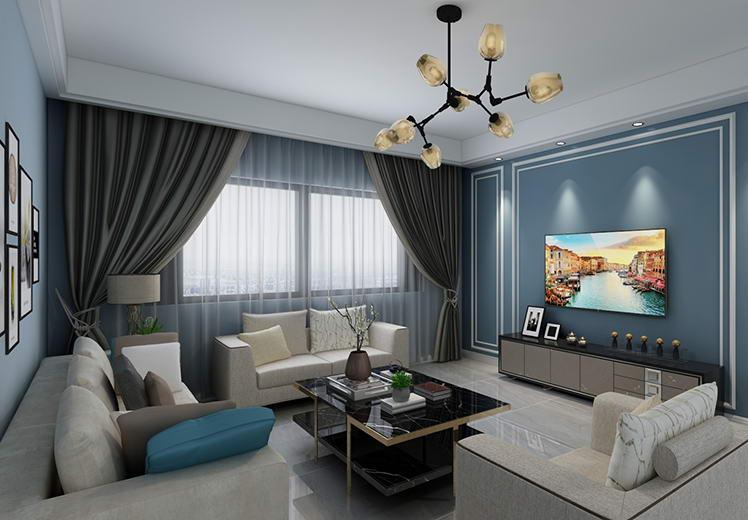 紫美雅和145平方四室两厅现代简约风格万博官网效果图