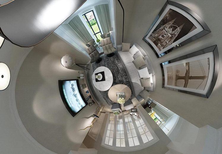 恒大绿洲三室两厅现代简约案例