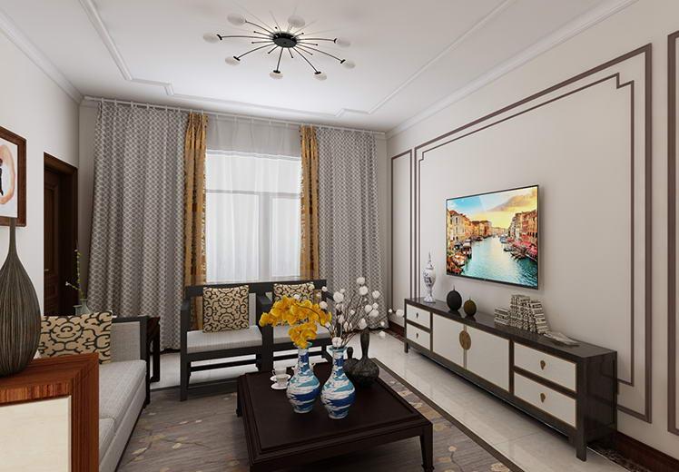 时代橙堡94平方三室两厅北欧风格万博官网效果图