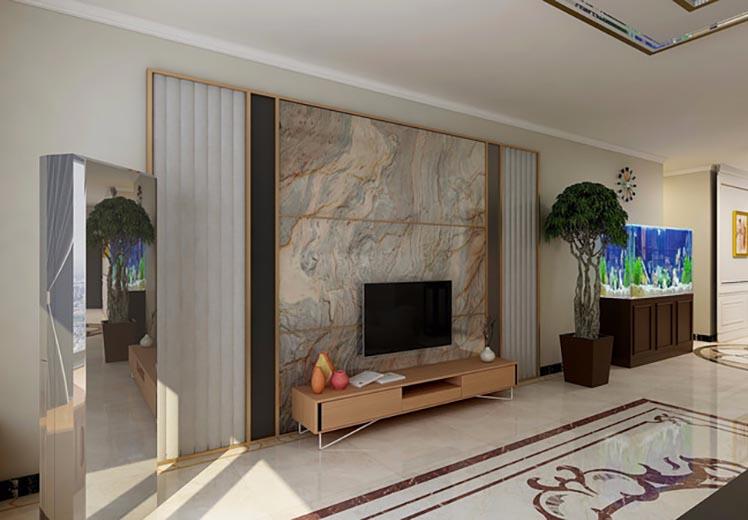天山学院家属院181平方三室两厅现代轻奢风格万博官网效果图