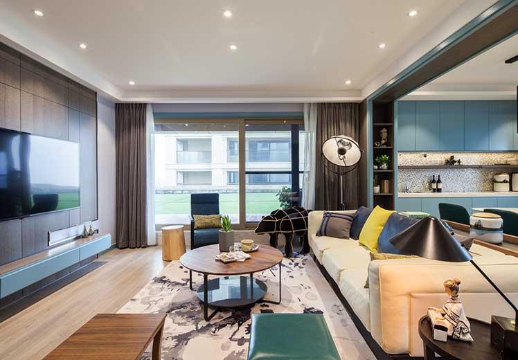 荣和城110平方三室两厅北欧风格新万博体育app万效果图